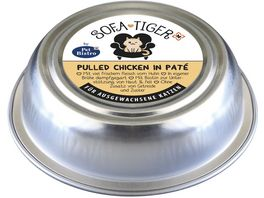 Sofa Tiger by Pet Bistro Pulled Chicken in Pate