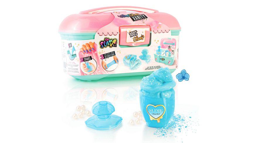 So Slime Glam Mini Case, Schleim zum Selbermachen - ganz einfach mit Wasser!