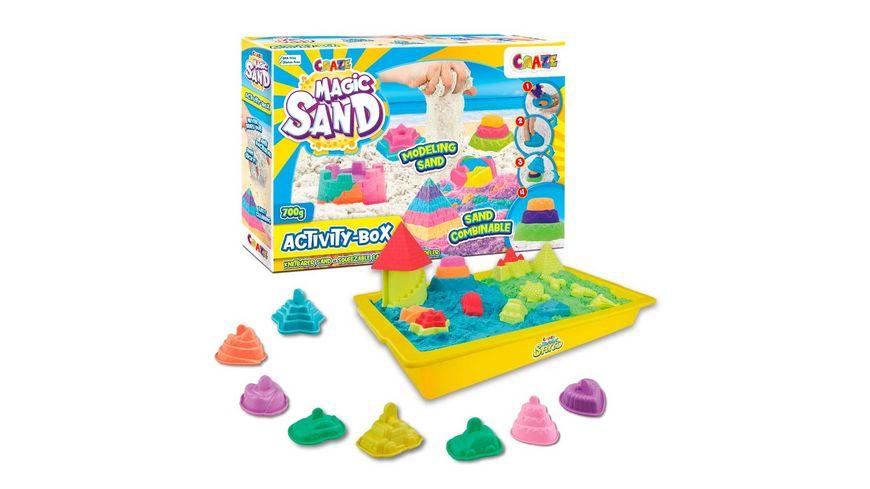 CRAZE MAGIC SAND ACTIVITY BOX 32343