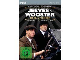 Jeeves Wooster Herr Meister Die komplette 23 teilige preisgekroente Kult Serie Pidax Serien Klassiker 4 DVDs