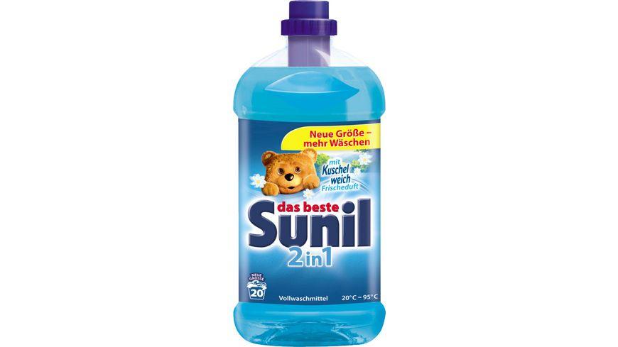 Sunil 2in1 flüssig 20 WL
