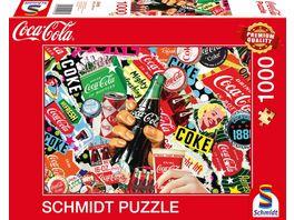 Schmidt Spiele Erwachsenenpuzzle Coca Cola is it 1000 Teile