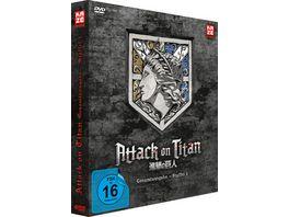 Attack on Titan Staffel 1 Gesamtausgabe Deluxe Edition 4 DVDs
