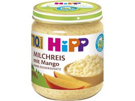HiPP Babyglaeschen Brei Milchreis mit Mango