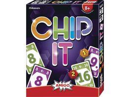 Amigo Spiele Chip it Ein tolles Kartenkombinationsspiel Fuer kleine und grosse Rechenkuenstler