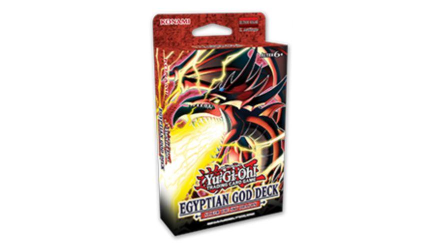 Yu-Gi-Oh Sammelkartenspiel - Egyptian God Deck: Slifer the Sky Dragon