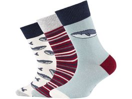 s Oliver Kinder Socken Organic Cotton Animal 3er Pack