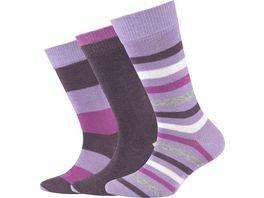s Oliver Kinder Socken Organic Cotton Striped 3er Pack