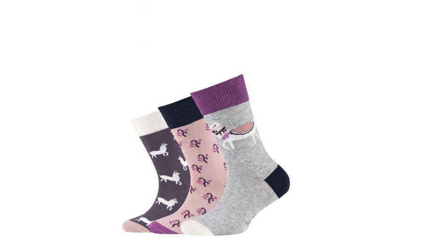 s.Oliver Kinder Socken Organic Cotton Animal 3er Pack