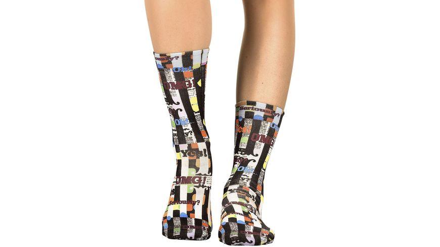 wigglesteps Damen Socken Verbosity