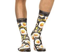 wigglesteps Herren Socken Sunny Side Up