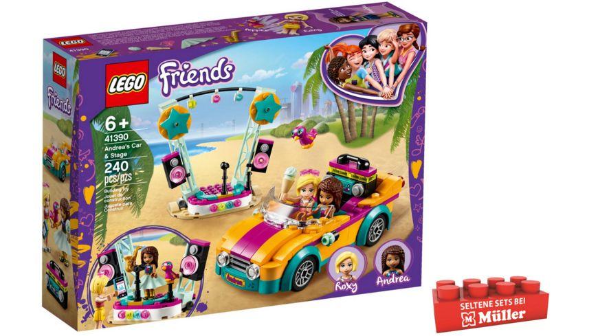 LEGO Friends - 41390 Andreas Bühne & Auto