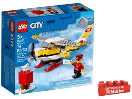 LEGO City 60250 Post Flugzeug