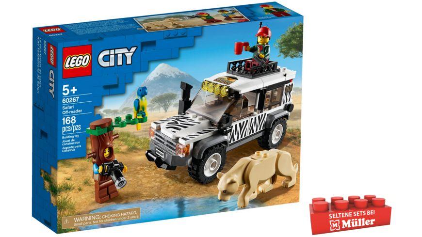 LEGO City - 60267 Safari-Geländewagen