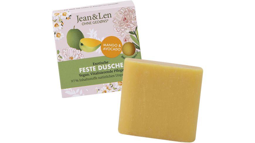Jean&Len Feste Dusche exotische Mango & Avocado