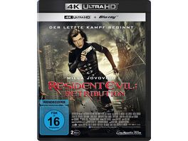 Resident Evil Retribution 4K Ultra HD Blu ray 2D