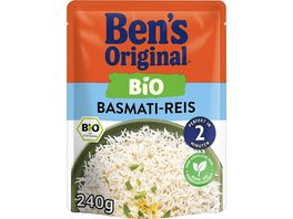 BEN S ORIGINAL Bio Basmati Reis 240g