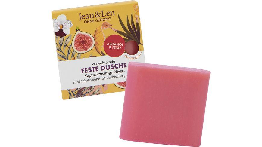 Jean&Len Feste Dusche mit verwöhnendem Arganöl & Feige