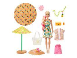 Barbie Color Reveal Schaumspass Ananas Puppe mit 25 Ueberraschungen