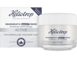 HELIOTROP Active Regenerativ Nachtcreme