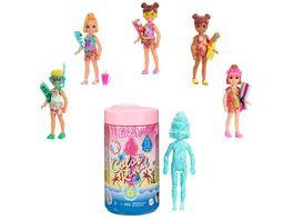 Barbie Color Reveal Chelsea Puppe Sand Sonne Serie Ueberraschungsset