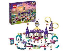 LEGO Friends 41685 Magische Jahrmarktachterbahn Freizeitpark