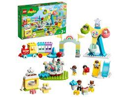 LEGO DUPLO 10956 Erlebnispark Jahrmarkt Kinderspielzeug ab 2 Jahre
