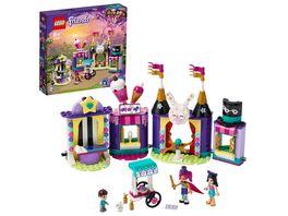 LEGO Friends 41687 Magische Jahrmarktbuden mit Zaubertricks fuer Kinder