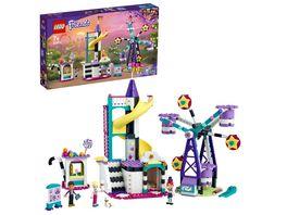 LEGO Friends 41689 Magisches Riesenrad mit Rutsche Vergnuegungspark