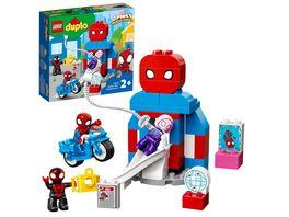 LEGO DUPLO Marvel 10940 Spider Mans Hauptquartier Kinderspielzeug