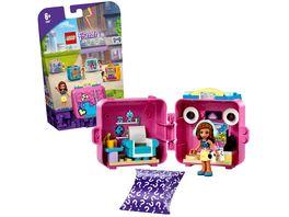 LEGO Friends 41667 Olivias Spiele Wuerfel Kinderspielzeug ab 6 Jahre