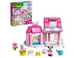 LEGO DUPLO Disney 10942 Minnies Haus mit Cafe Spielzeug zum Bauen