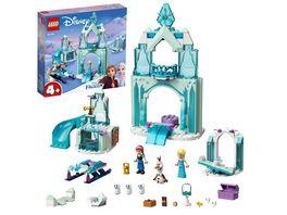 LEGO Disney Princess 43194 Annas und Elsas Wintermaerchen Schloss