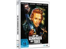 Auf den Schwingen des Todes Mediabook Cover C Limited Edition auf 444 Stueck DVD
