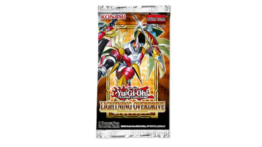 Yu-Gi-Oh Sammelkartenspiel - Lightning Overdrive, Booster