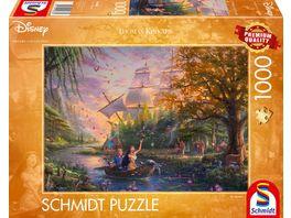 Schmidt Spiele Erwachsenenpuzzle Disney Pocahontas 1000 Teile Puzzle