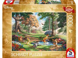 Schmidt Spiele Erwachsenenpuzzle Disney Winnie The Pooh 1000 Teile Puzzle