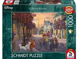 Schmidt Spiele Erwachsenenpuzzle Disney The Aristocats 1000 Teile Puzzle