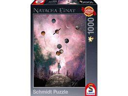 Schmidt Spiele Erwachsenenpuzzle Planet Sehnsucht 1000 Teile Puzzle
