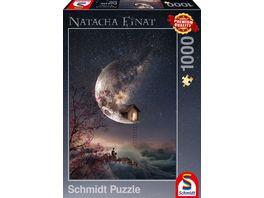 Schmidt Spiele Erwachsenenpuzzle Traumgefluester 1000 Teile Puzzle