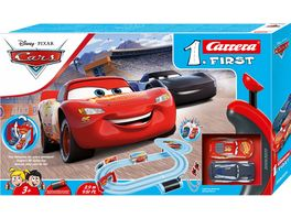 Carrera First Disney Pixar Cars Piston Cup