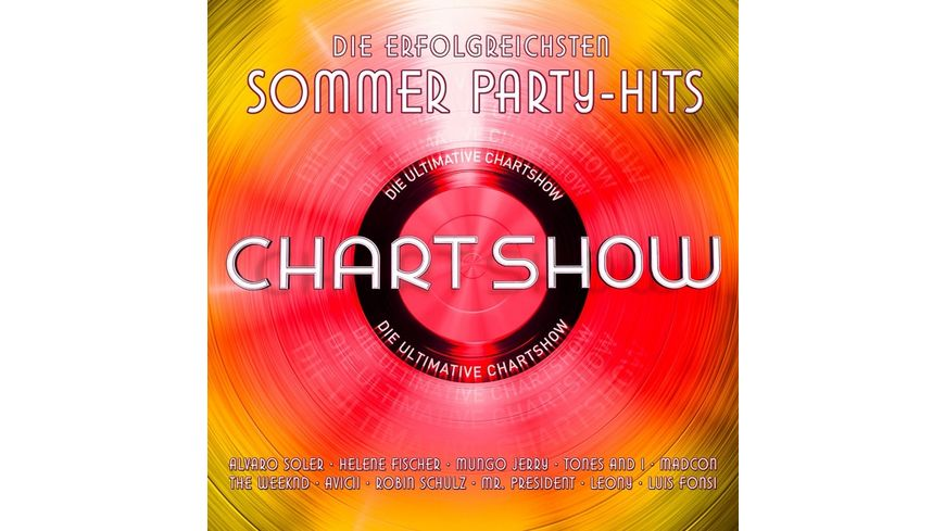 Die Ultimative Chartshow-Sommer Party-Hits