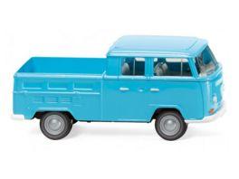 Wiking 31404 1 87 VW T2 Doppelkabine eisblau