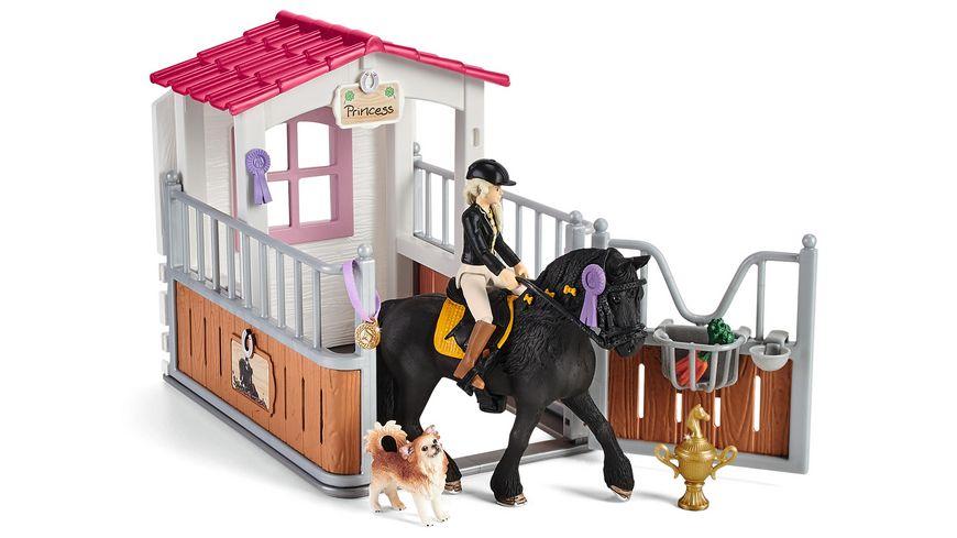 Schleich 42437 - Horse Club - Pferdebox mit Horse Club Tori & Princess