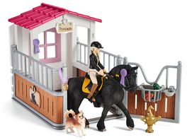 Schleich 42437 Horse Club Pferdebox mit Horse Club Tori Princess
