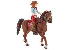 Schleich 42539 Horse Club Hannah Cayenne