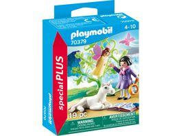 PLAYMOBIL 70379 Special Plus Feenforscherin mit Einhornbaby