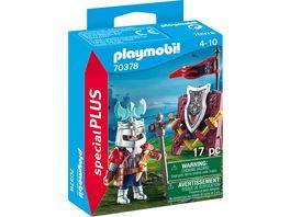 PLAYMOBIL 70378 Special Plus Zwergenritter mit Waffen