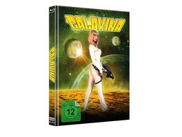 Galaxina Mediabook Cover A Limited Edition auf 500 Stueck DVD