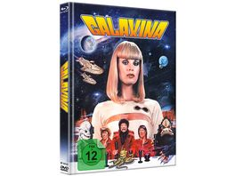 Galaxina Mediabook Cover B Limited Edition auf 500 Stueck DVD